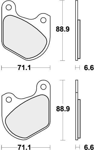 Gold Hose /& Stainless Green Banjos Pro Braking PBK7090-GLD-GRE Front//Rear Braided Brake Line