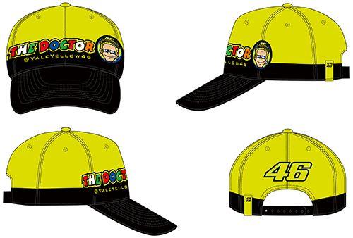 VR46   Rossi Cupolino Multicolor cap   Tenkateshop.com